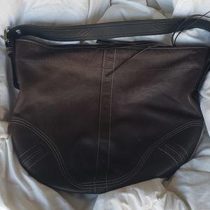 Used Coach Leather Purse
